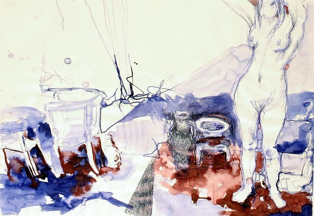 Mappenvorbereitung Bildende Kunst Malschule Prib